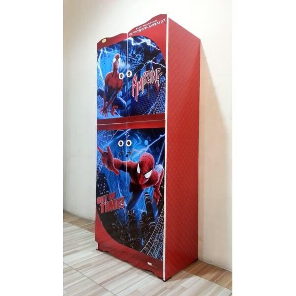 Lemari Pakaian Anak Spiderman BP 14002