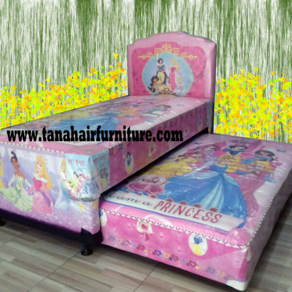 Ranjang 2 in 1 Princess