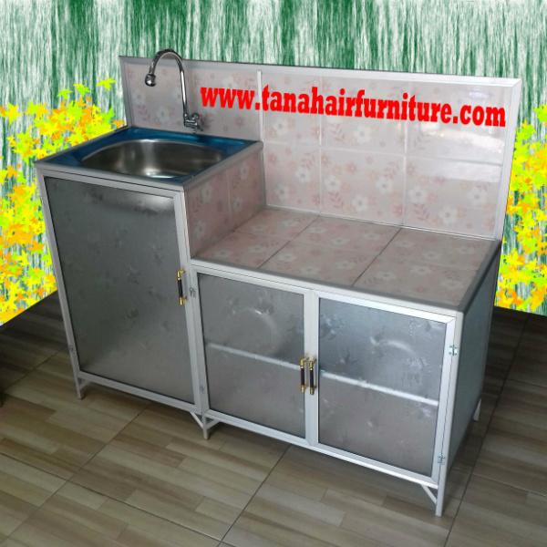 Rak Kompor dan Cuci Piring Aluminium