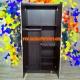 Lemari Pakaian 2 Pintu Olympic LCSP 036380-38 - terbuka - tampak dalam