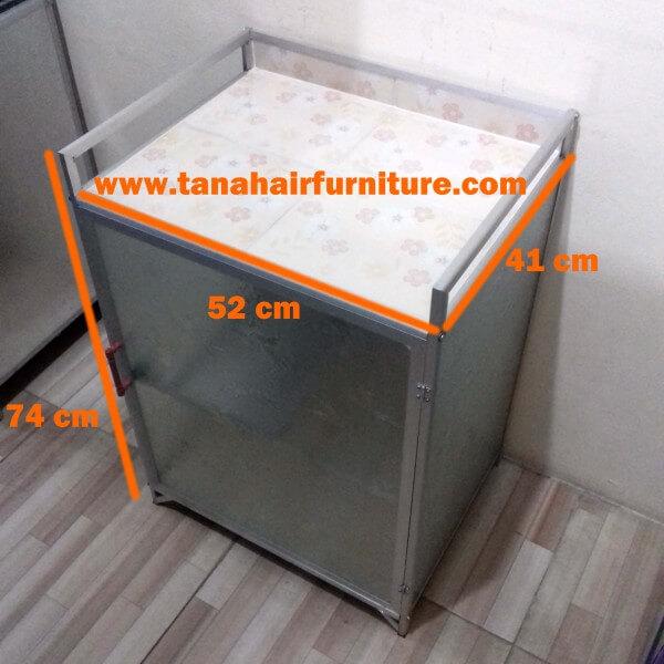 Rak Kompor Aluminium 1 Pintu