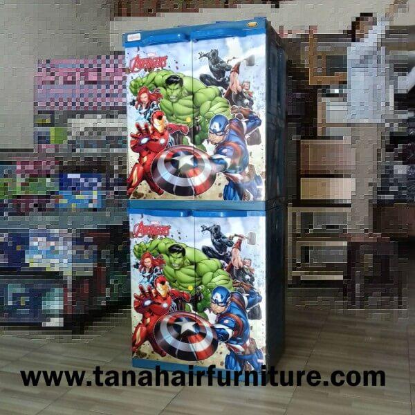 Lemari Plastik Naiba Avengers