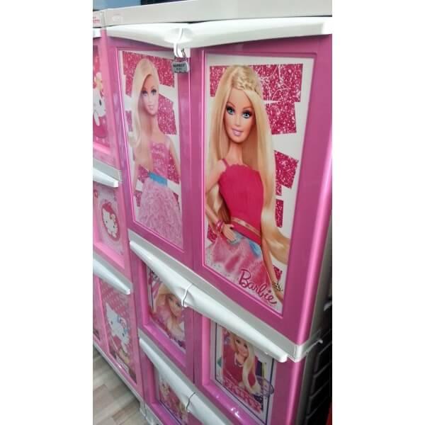 Lemari Susun Napolly BCBC - Barbie