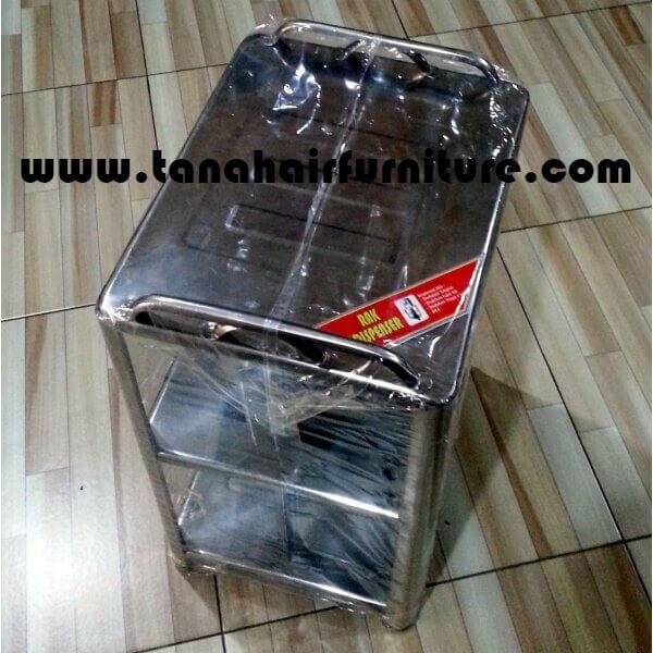 Rak Dispenser Aluminium